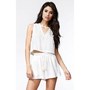 Kendall & Kylie Embroidered Shorts